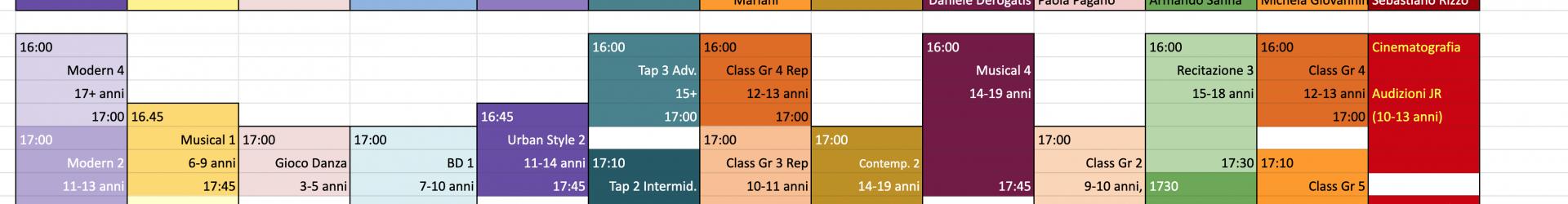 Lezioni Prova Gratuite – ecco il calendario completo