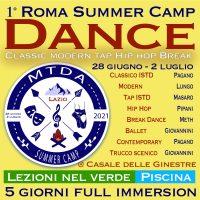 roma danza summer camp 2021